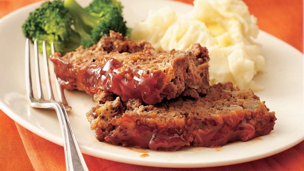 Maple-Glazed Meat Loaf