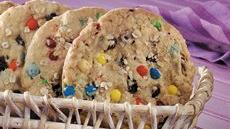 Giant Oatmeal Candy Cookies Recipe