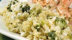 Easy Three-Cheese Broccoli Couscous Recipe
