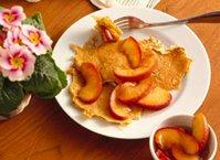 Potato Pancakes with Cinnamon Apples