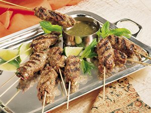 kabobs peach skewers sweet and sour grilled swordfish kabobs jalapeno ...