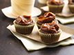 Bourbon Brownie Bites with Dulce de Leche 