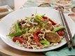 Spicy Thai Pork with Vegetables &amp; Sesame Noodles