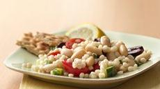 Tuscan Couscous with Lemon Basil Dressing Recipe