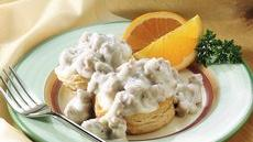 Biscuits with Pork Sausage Gravy Recipe