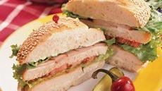 Grilled Chicken Club Sandwiches Recipe