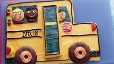 Giant School Bus Cookie Recipe