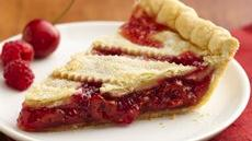 Cherry-Red Raspberry Pie Recipe