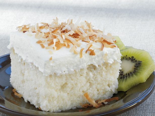 Coconut Tres Leches Cake recipe from Betty Crocker