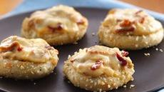 Gruyère-Bacon Pizza Minis Recipe
