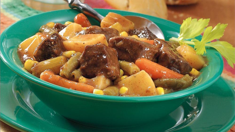 Easy Slow-Cooker Beef Stew
