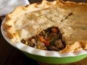 Chicken Marsala Pot Pie