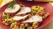 Turkey and Corn Bread Casserole