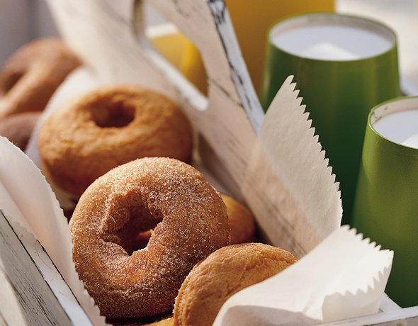 Image of Applesauce Doughnuts, Betty Crocker