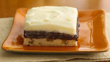 Creamy Orange-Chocolate Truffle Bars