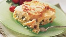 Do-Ahead Chicken-Leek Strata Recipe