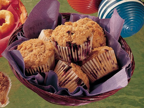 Blueberry Streusel Muffins (<I>lighter recipe</I>)