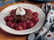 Chocolate-Cherry Cobbler