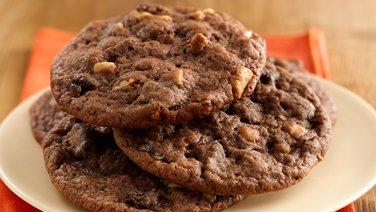 Orange Chocolate Date Cookies