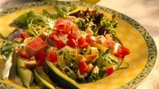 Sausalito Chicken and Seafood Salad Recipe