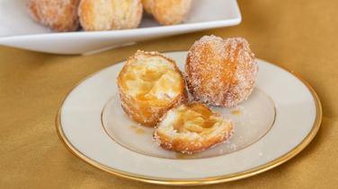 Apple Cider Crescent Doughnut Holes