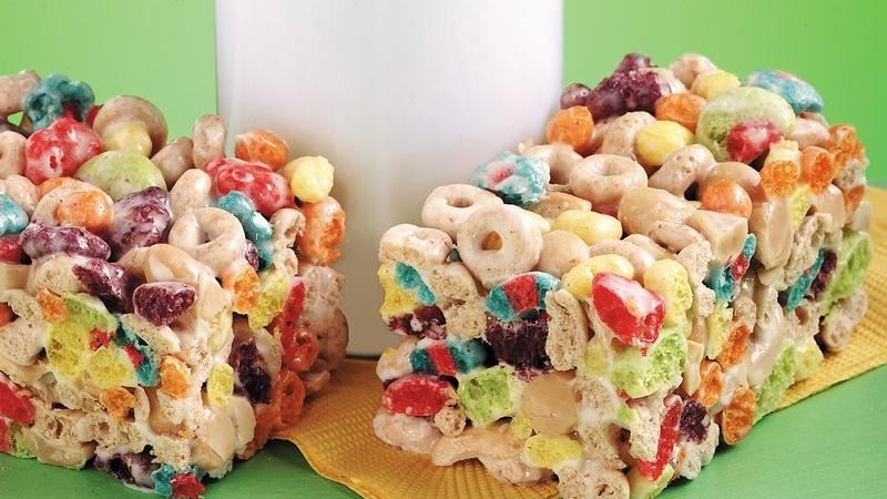 Cheerios™ and Trix™ Treat Bars