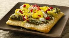 Tapenade Flatbread Appetizers Recipe