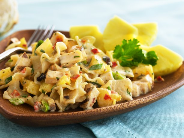 Caribbean Jerk Chicken & Pasta Salad