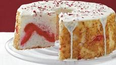 Candy Cane Angel Cake Recipe