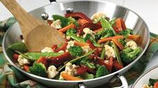 Salad Bar Vegetable Stir-fry Recipe
