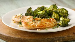 Healthy Lemon Garlic Chicken with Broccoli