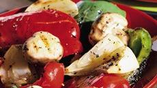 Grilled Bell Peppers, Onion and Mushrooms Recipe