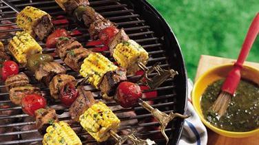 Southwest Steak Kabobs