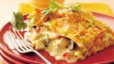 Mexican Chicken-Sour Cream Lasagna Recipe