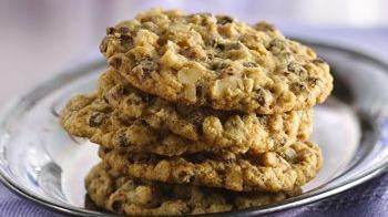 Slice 'n' Bake Oatmeal Chocolate Chip Cookies