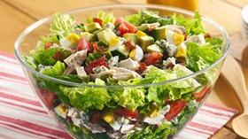 Layered Cobb Salad Recipe