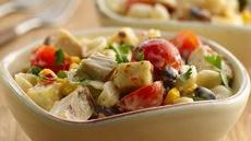 Southwest Chicken Ranch Pasta Salad Recipe