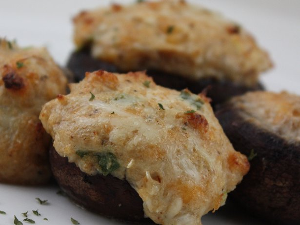 Gluten Free Crab Stuffed Mushrooms