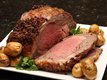 Onion-Crusted Beef Prime Rib Roast
