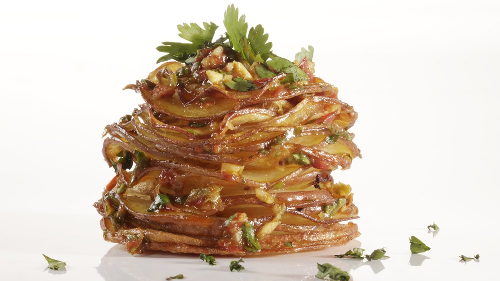 Chipotle Potato Stacks