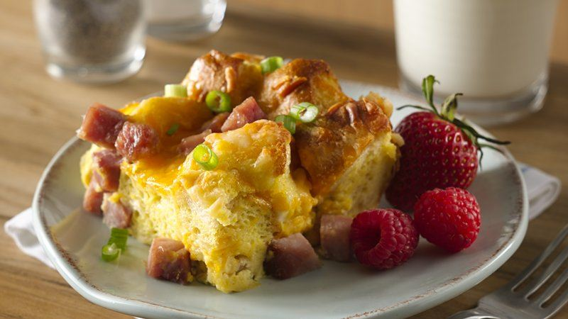 Make-Ahead Strata Bake