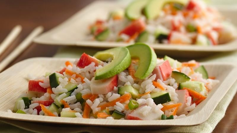 "California ""Sushi"" Rice Salad recipe from Betty Crocker"