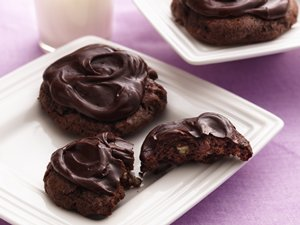 Fudgy&#32;Frosted&#32;Brownie&#32;Cookies