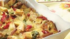 Bagel 'n Brie Brunch Strata Recipe