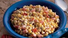 Creamy Herbed Corn Recipe