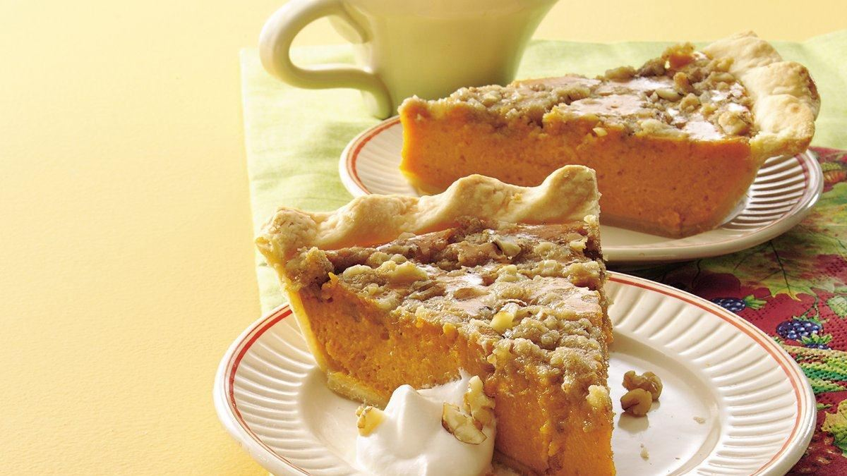 Maple-Walnut Pumpkin Pie - Life Made Delicious