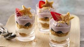 Berry Pie Trifle Shots Recipe