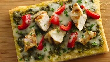 Tuscan Chicken Pizza