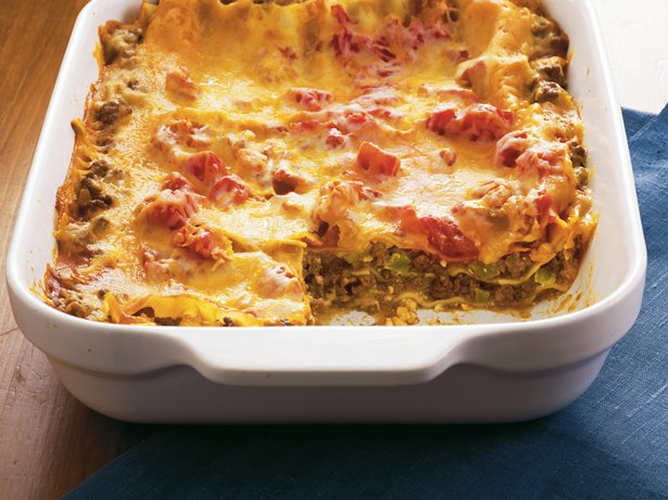 Enchilada Lasagna