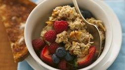 Gluten Free Triple Berry Oatmeal Muesli